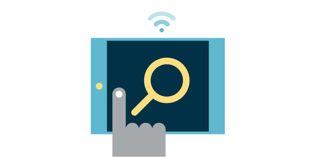 DB_tablet_hand_magnifying_glass