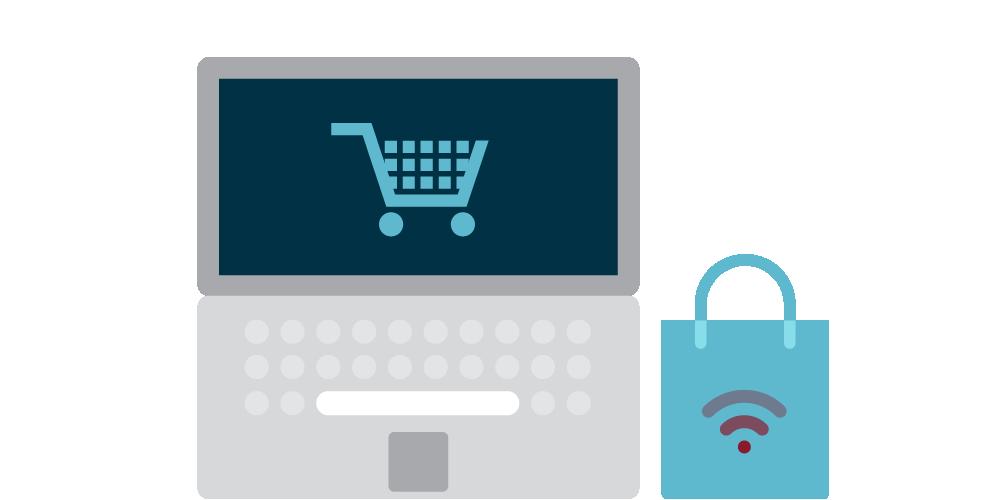 RC_computer_trolley_basket_shopping_bag