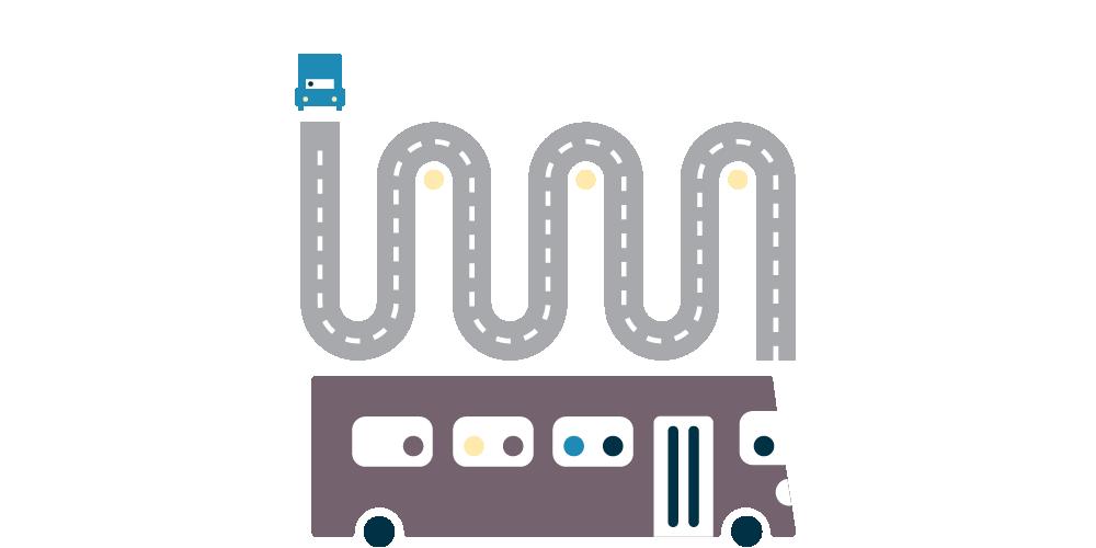 TA_bus_van_road