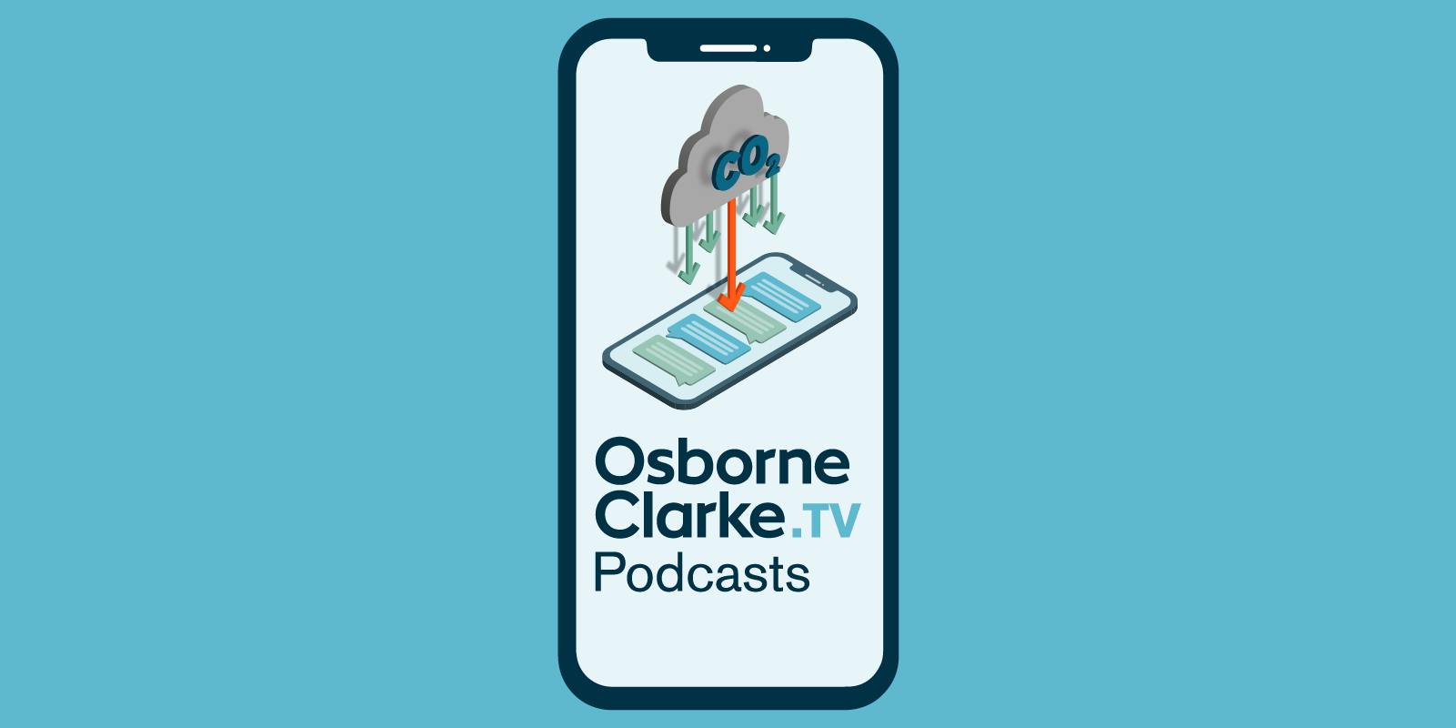 Decarbonisation podcast website banner