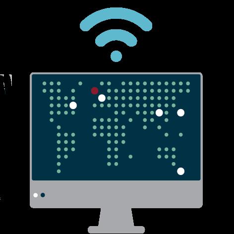 computer map